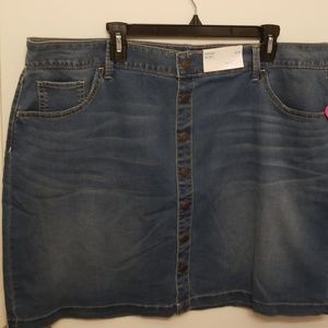 Boutique Denim Skirt